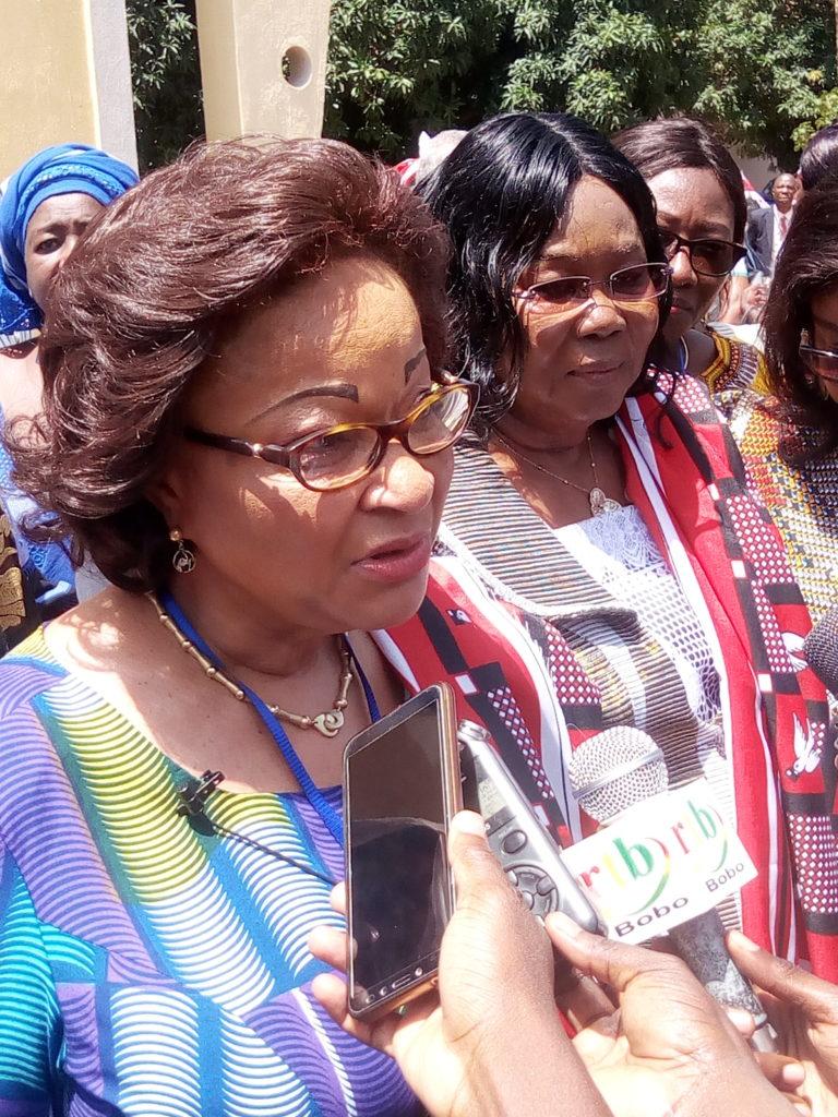 La commissaire à l'économie rurale et à l'agriculture de la Commission de l'Union Africaine Josepha Sacko veut une agriculture Africaine débarrassée de la houe manuelle