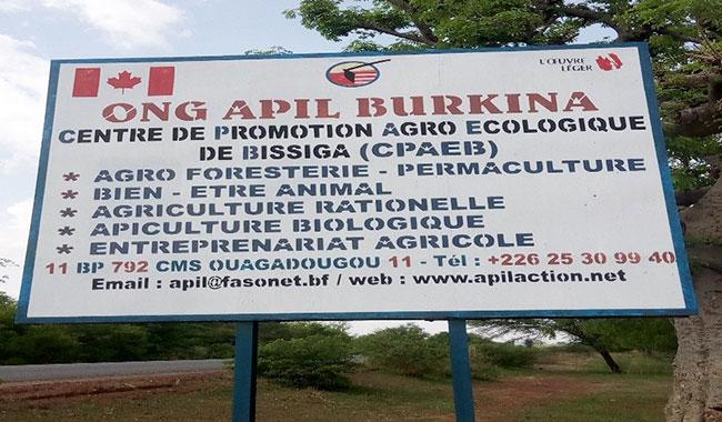 BURKINA FASO : Le CPAEB, l'univers du tout bio