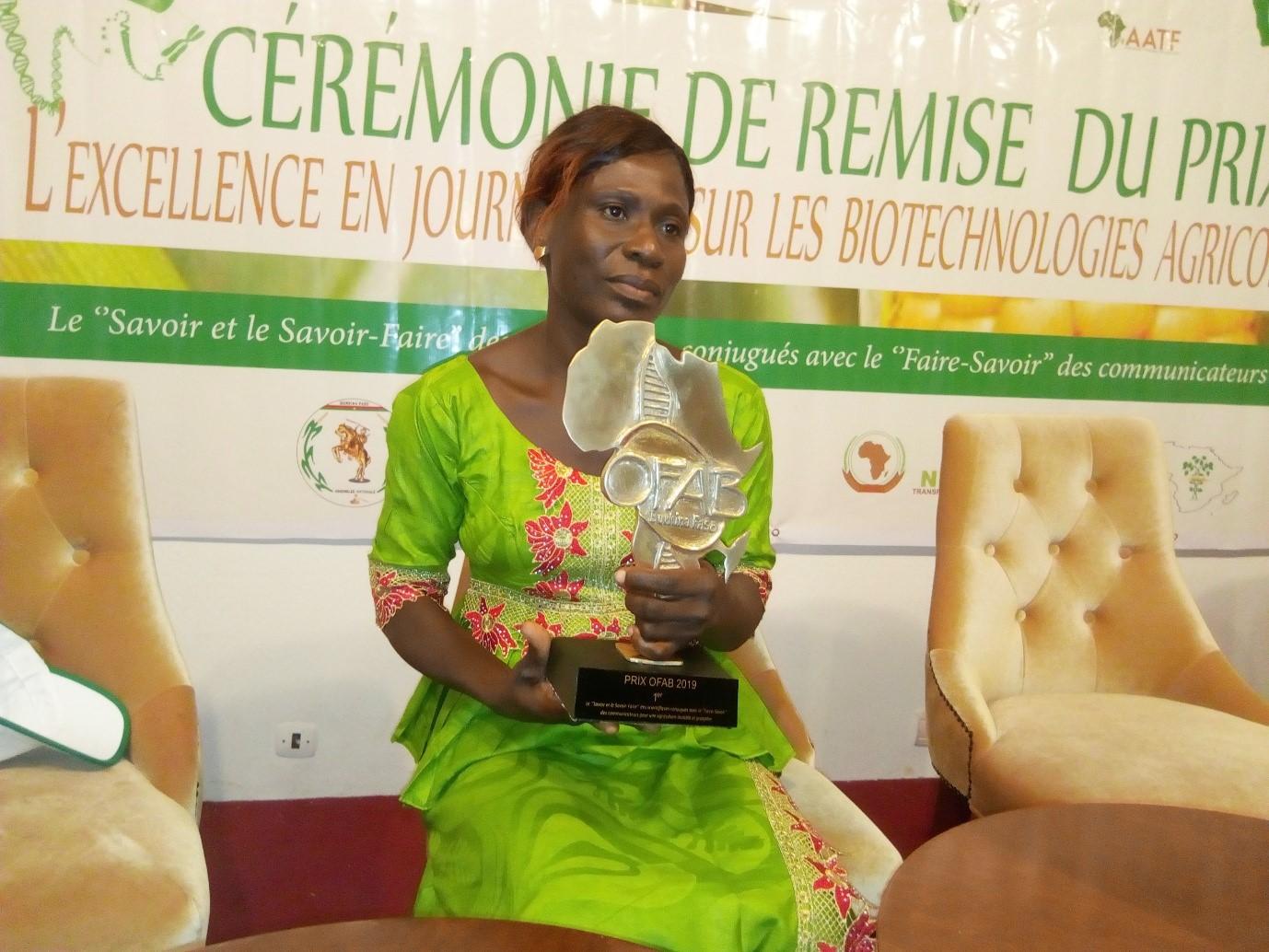 PRIX OFAB 2019: Bessaoula l'a remporté malgré sa peur des biotechnologies
