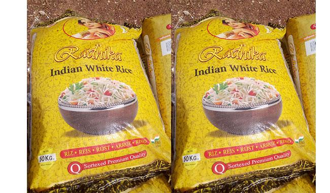 REMISE DE VIVRES A L'ARRONDISSEMENT 6: Et si le donateur avait pensé au riz local?