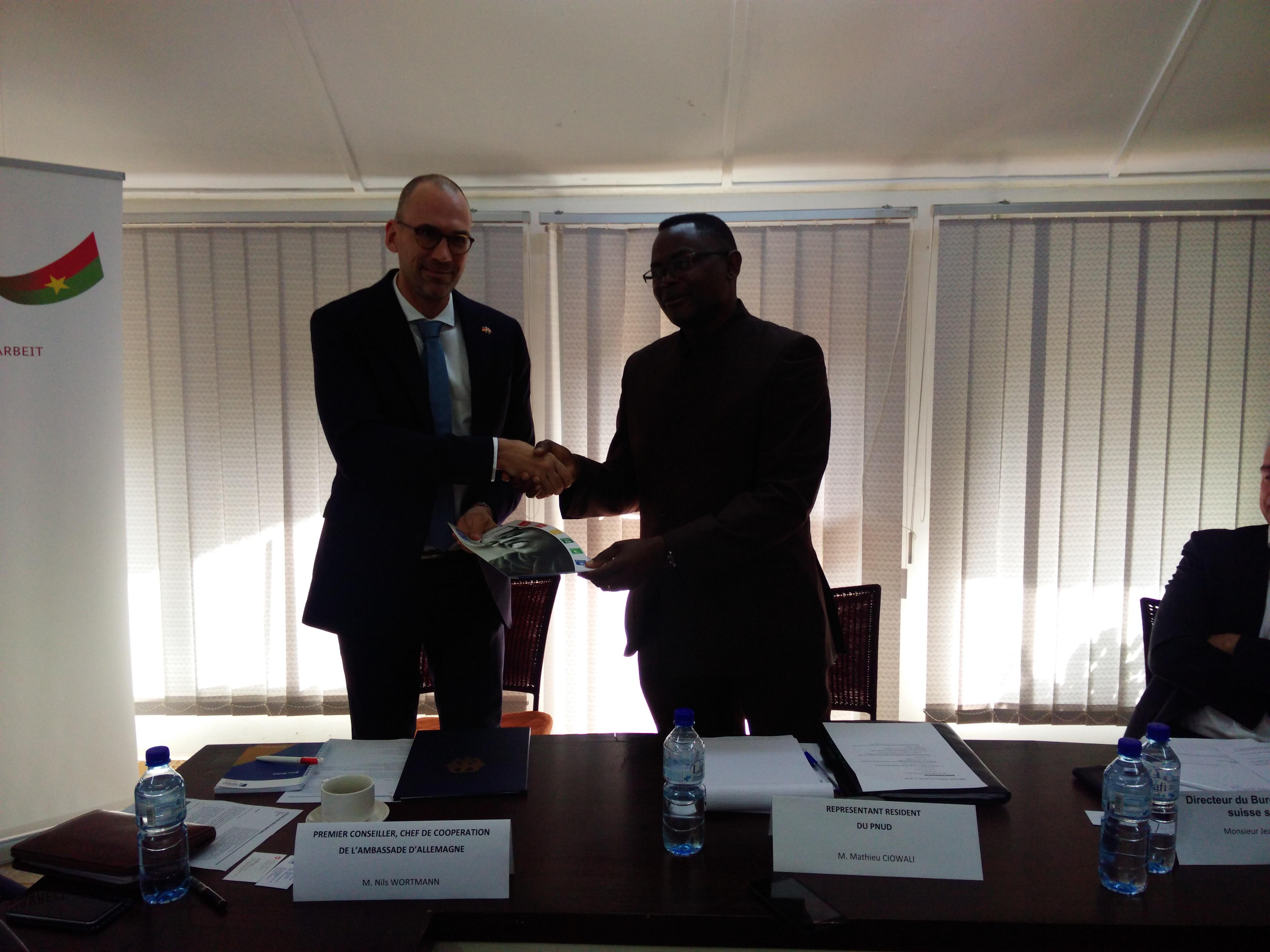 BURKINA FASO : l'Allemagne, nouveau « Boss » des PTF du CSD/GAL