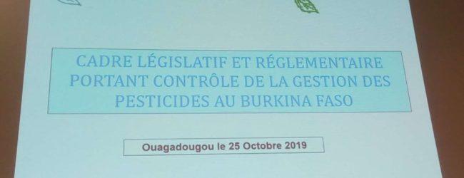 Protection phytosanitaire des végétaux : Les cas de mauvais usages de pesticides sont condamnés par la loi N°026/2017/AN du 15 mai 2017