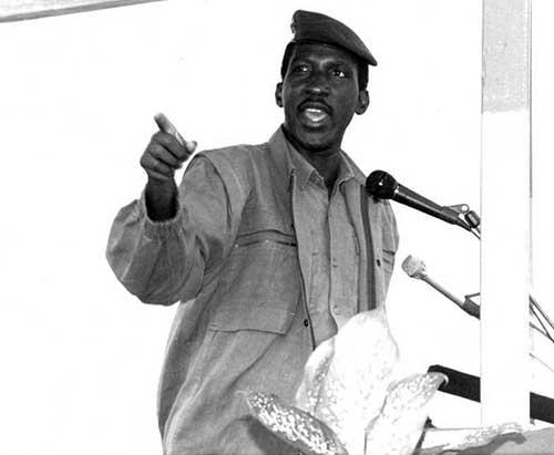 DISCOURS D'ORIENTATION POLITIQUE DU 2 OCTOBRE 1983 : La réforme agraire devait traquer les affameurs du peuple