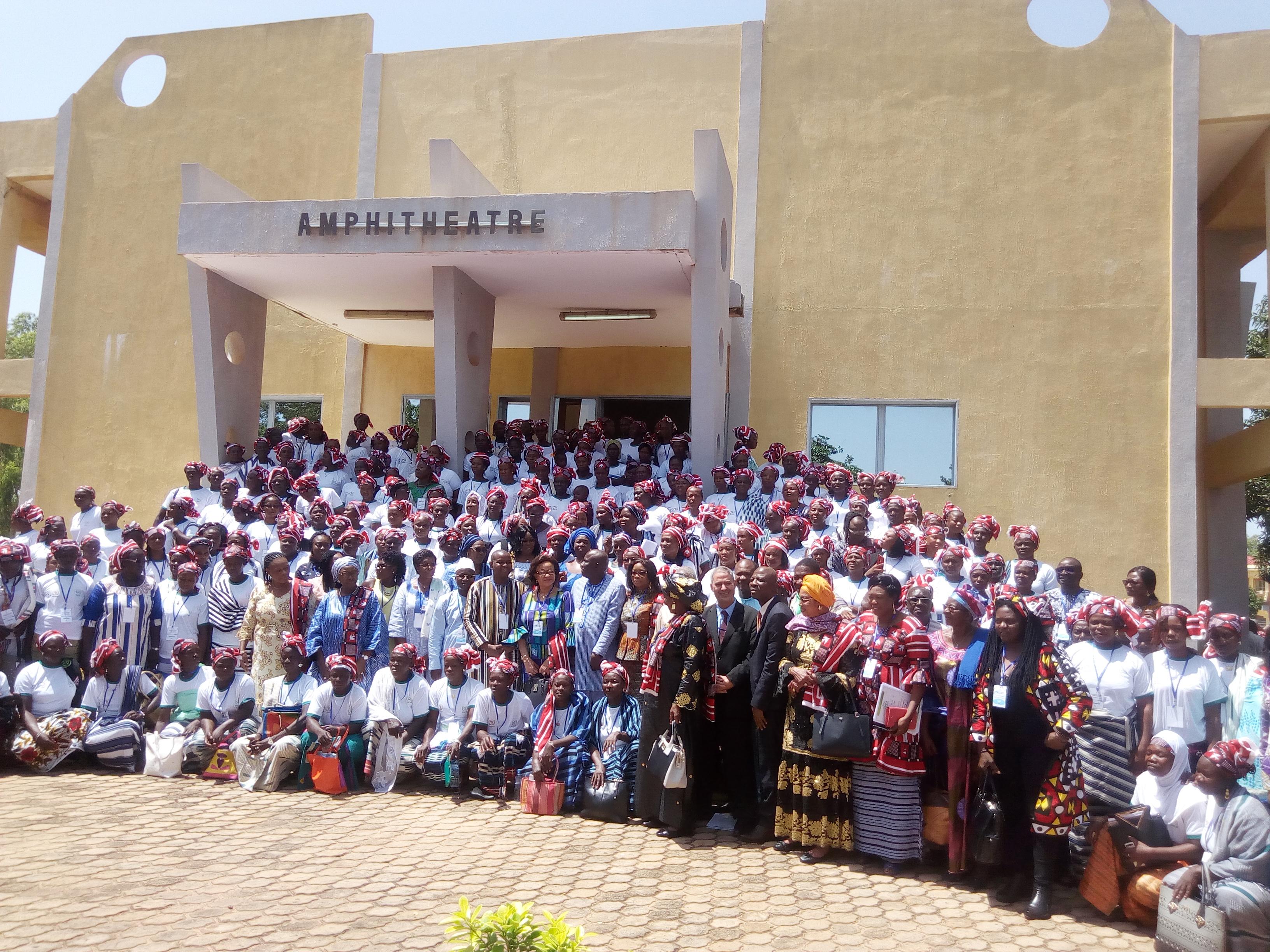 Déclaration de Bobo-Dioulasso pour l'allègement de la pénibilité des travaux agricoles de la femme rurale dans le cadre du lancement de la campagne : « Confinement de la houe manuelle au musée ».