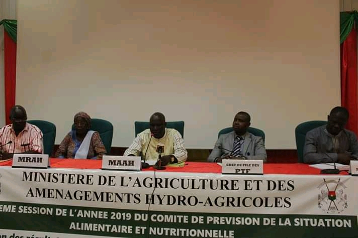 Burkina Faso : Campagne Agricole 2019 : Le bilan jugé passable avec 2,92% de baisse de la production céréalière