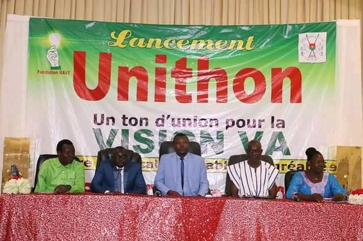 Cérémonie de Lancement Unithon : Environ 20 millions de FCFA engrangé par la Fondation Ravi pour son projet Fast Job and Food