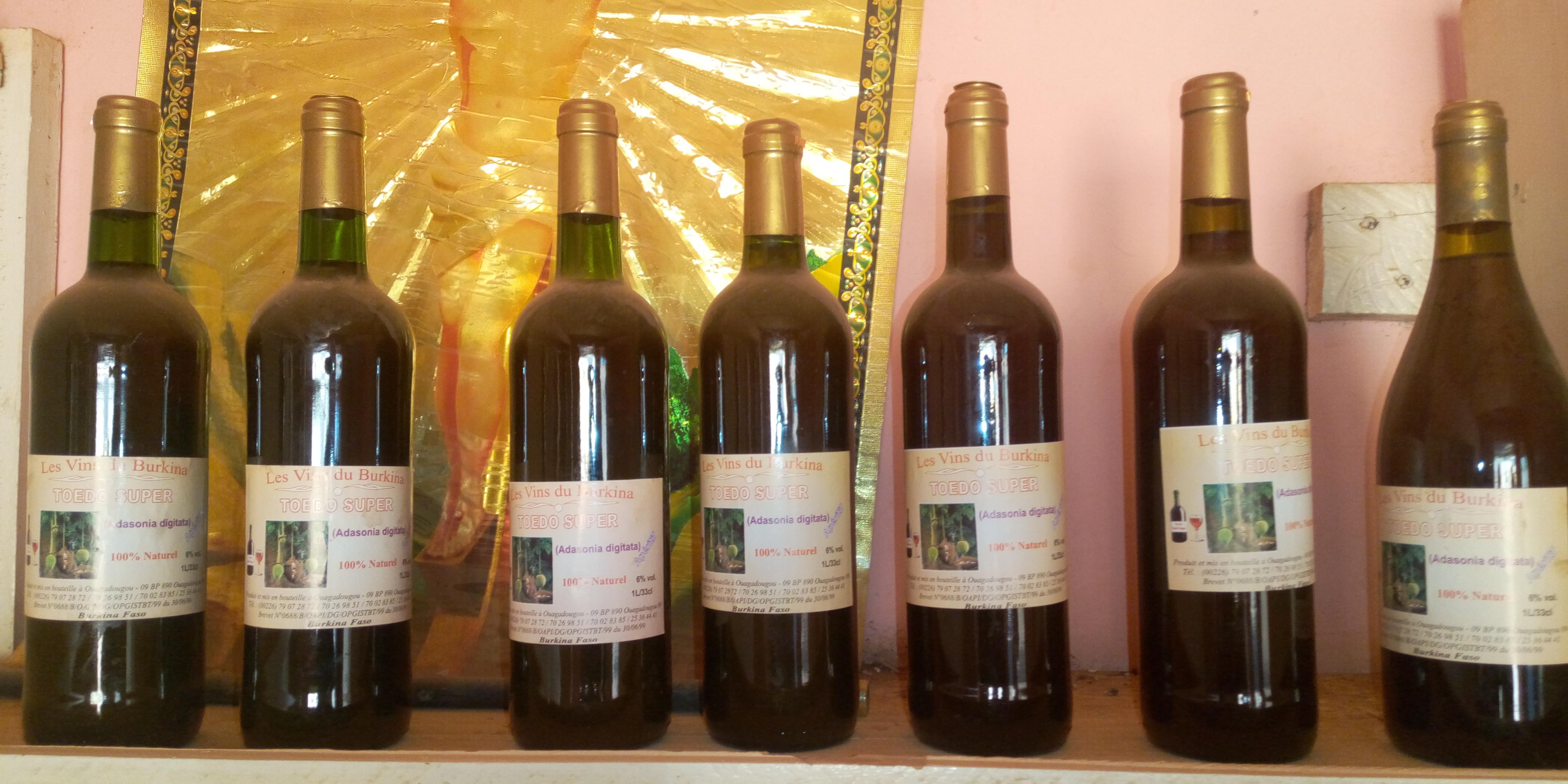 « Les Vins du Burkina » : La marque de vin 100% Burkinabè
