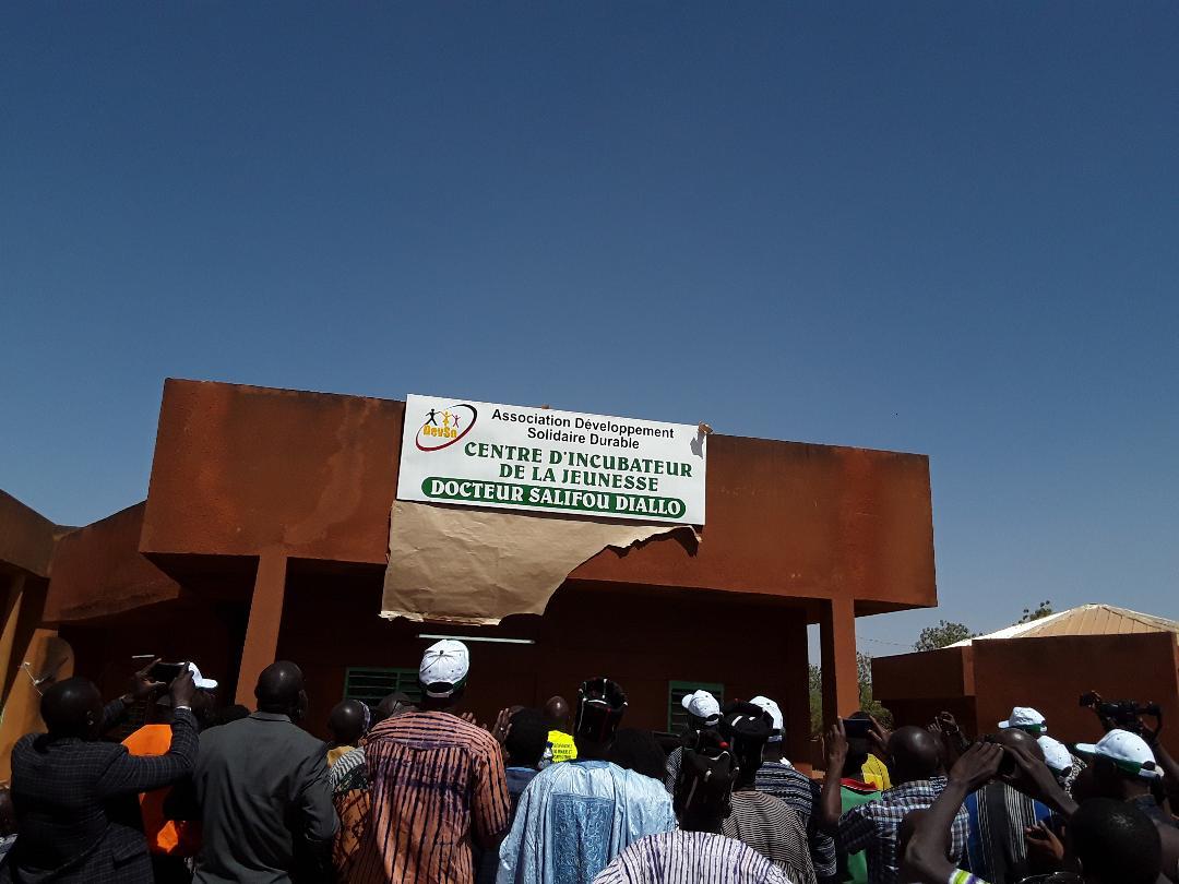 Burkina Faso : Région du Nord : Le Ministre Salifou OUÉDRAOGO inaugure le « Centre d'incubation de la jeunesse Dr Salifou DIALLO »