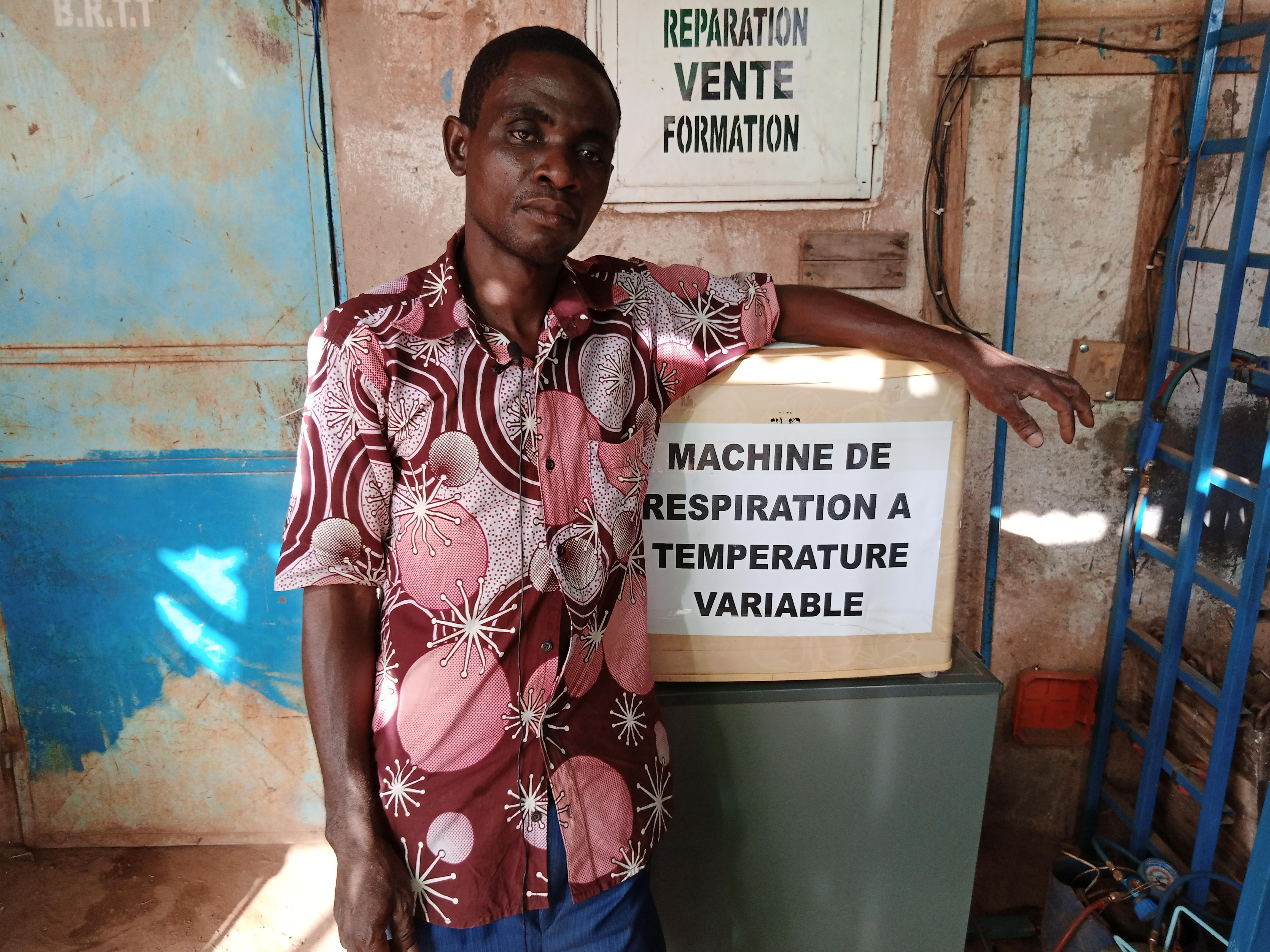 Burkina Faso : Lutte Contre Le Covid 19:            Kushiator Newlove Kwaku, le génie de Tanghin