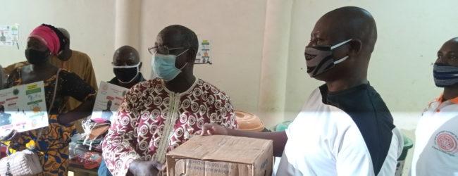 Lutte contre le Covid 19 : l'UITA Burkina met son pied dans la danse