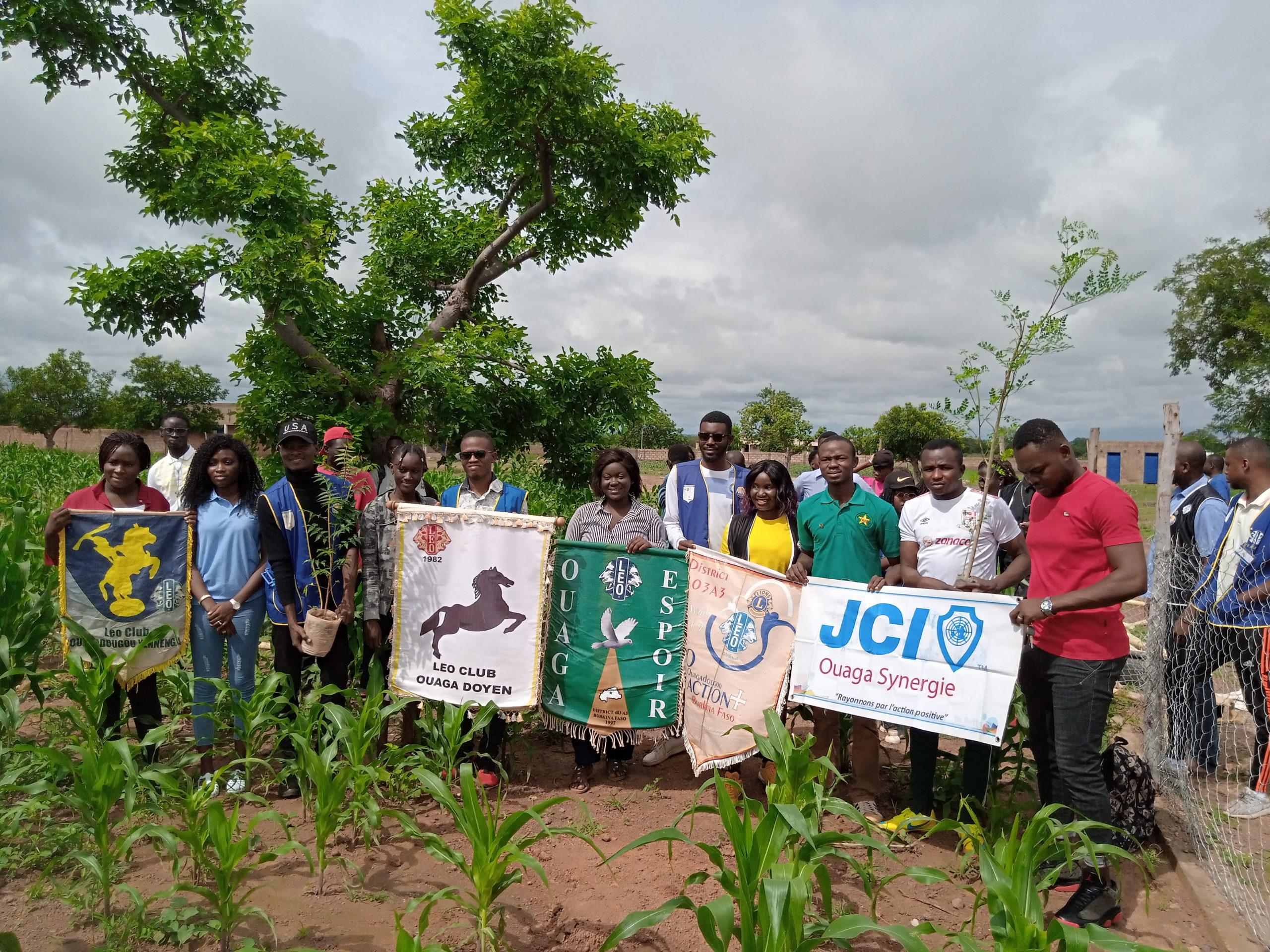 Burkina Faso : Les Leos s'engagent aux cotés de l'environnement