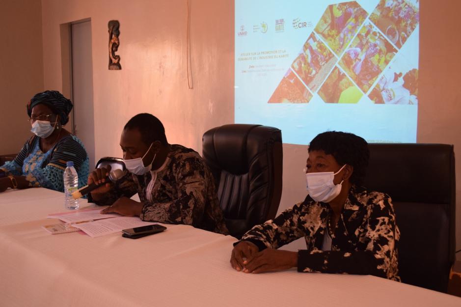Projet PRADCIFK : L'UMOCI Burkina Faso et l'AGK organisent un atelier sur les marchés d'exportation des produits à base de Karité