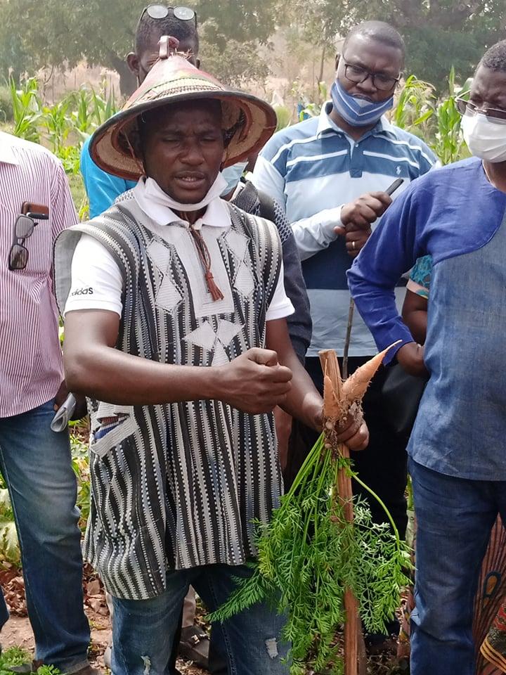 Agriculture : Razack Belemgnegre partage son expérience en Agroécologie