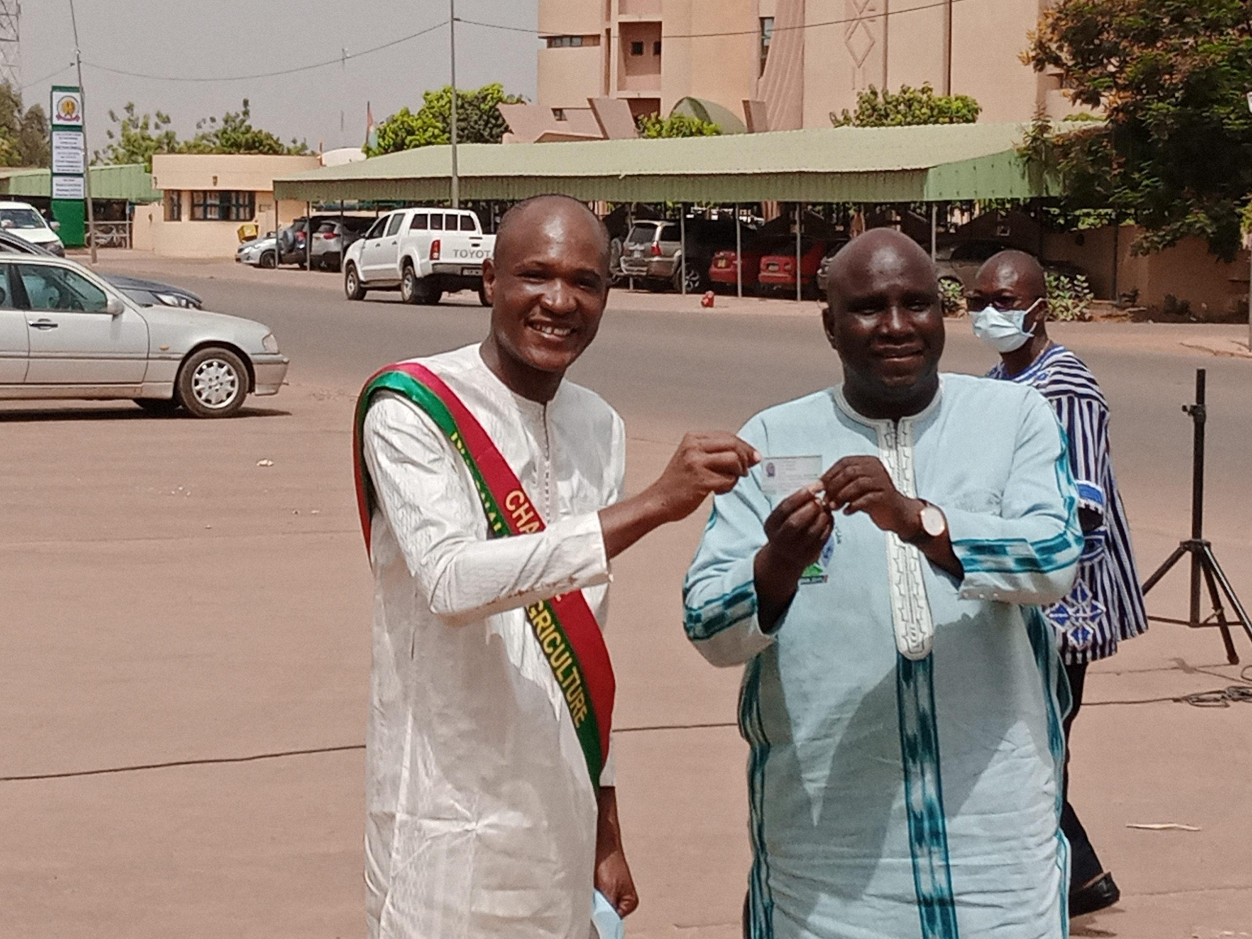 Enfin, le métier d'agriculteur officiellement reconnu au Burkina Faso