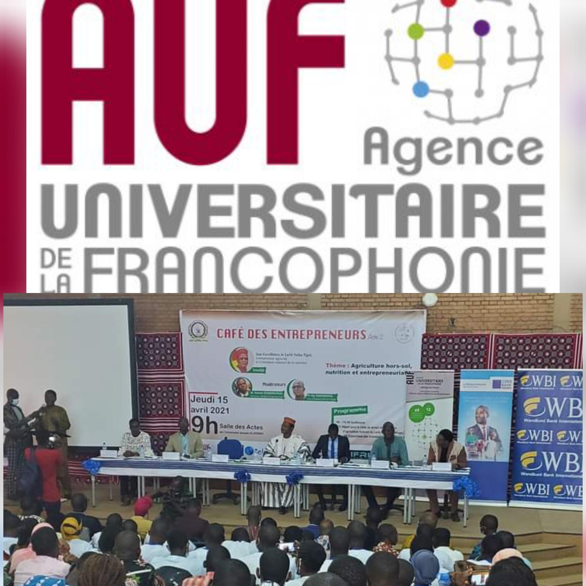 Café des entrepreneurs acte 2: l'AUF, un partenaire privilégié au service de l'entrepreneuriat estudiantin.