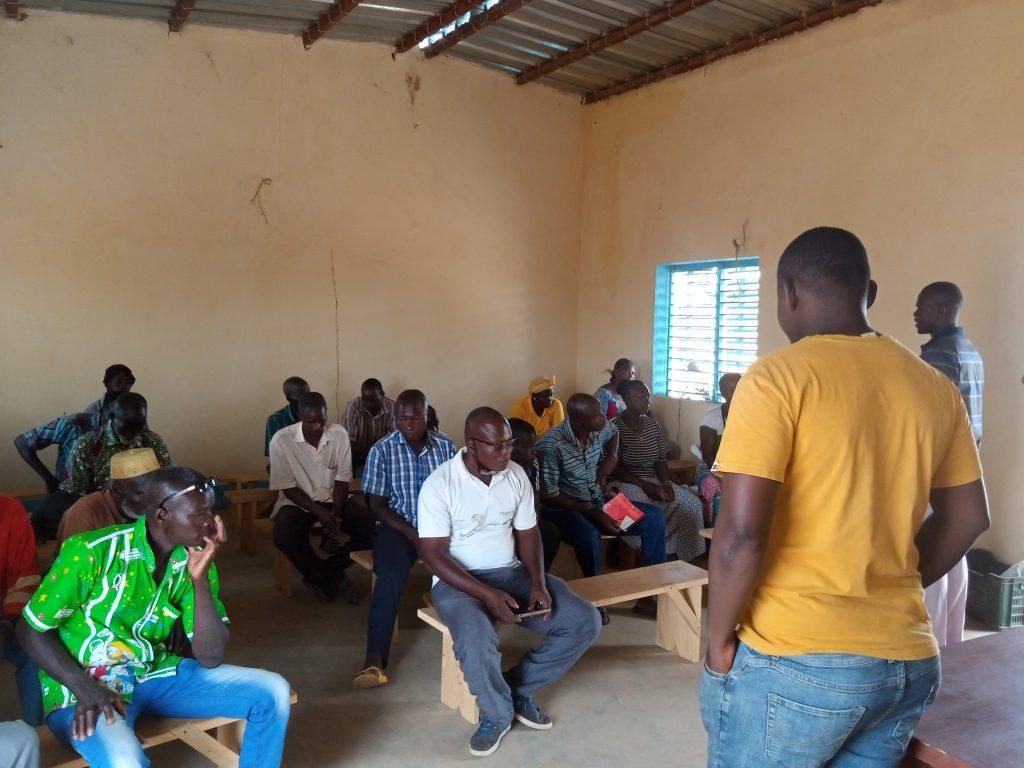 Production Biologique : Le CNABio apporte la bonne information à l'Union Nanglobzanga de Loumbila
