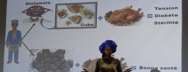 Burkina : Santé : Joëlle Yougbare encourage la consommation du Soumabala pour corriger la tension et améliorer la fertilité