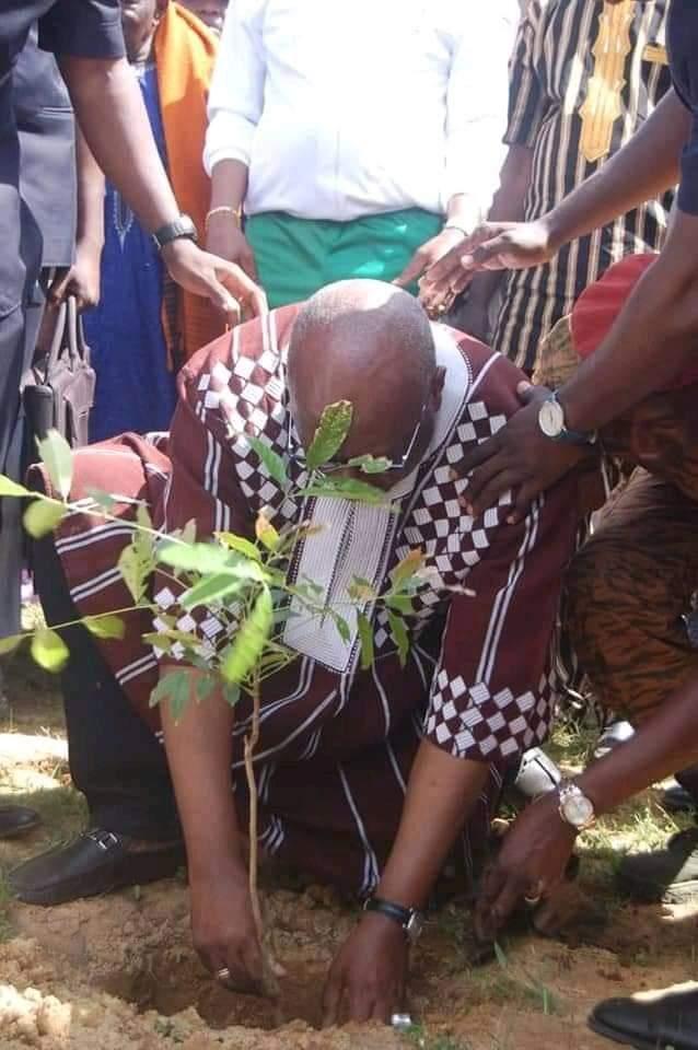 Burkina : Campagne de Reforestation 2021: Attention aux opérations de reboisement caméra
