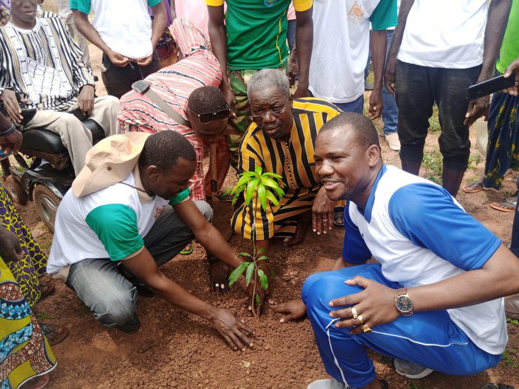Environnement : l'ASPH en route pour reverdir le Faso